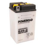 MC-batteri 6V 10Ah B49-6 Poweroad lxbxh=91x83x160mm