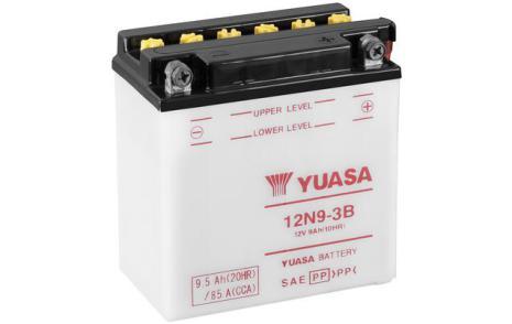 YUASA MC batteri 12V 9,5Ah 12N9-3B LxBxH:135x75x139mm