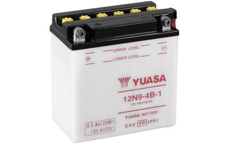 YUASA MC batteri 12V 9,5Ah 12N9-4B-1 LxBxH:135x75x139mm