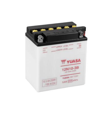 YUASA MC batteri 12V 10Ah 12N10-3B LxBxH:136x91x146mm