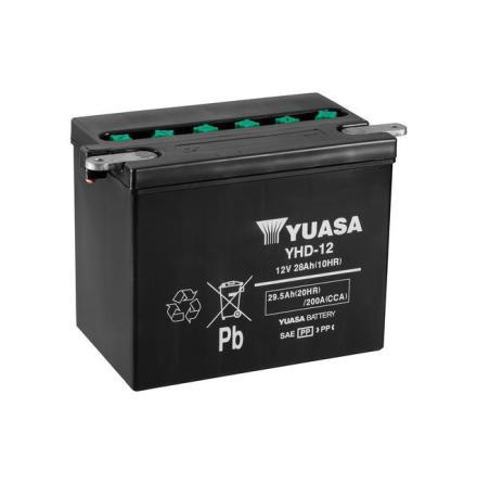 YUASA MC batteri 12V 29Ah YHD-12 lxbxh=206x133x165mm