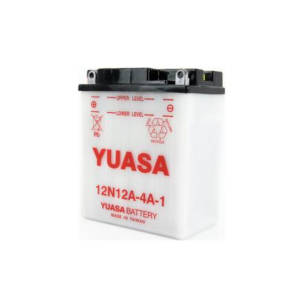 YUASA MC batteri 12V 9,5Ah 12N12A-4A-1 LxBxH:134x80x160mm