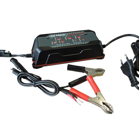 Batteriladdare  12V 5A för samtliga blybatterityper SLI, MF, VRLA, AGM, GEL & CAL/CAL.