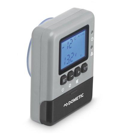 Trådlös display för Dometic CoolFreeze CFX kylboxar. Visar kylboxens innertemperatur på avstånd.