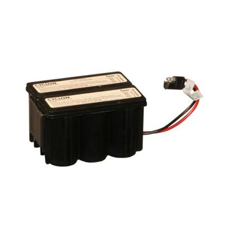 KLIPPO startbatteri Cyklon batteri till gräsklippare 12 Volt 2,5Ah/8046W Multistick anslutning
