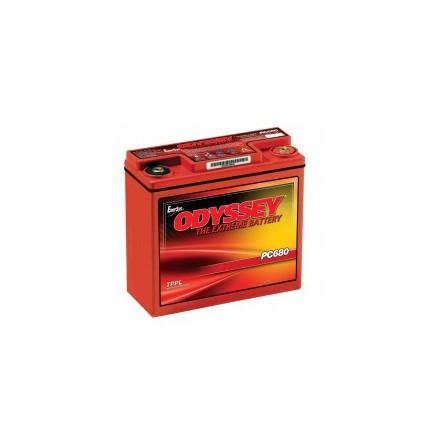 Startbatteri Odyssey PC680 12V 17Ah lxbxh=185x79x170mm