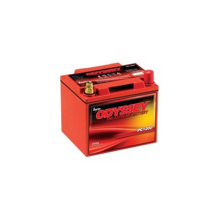 Startbatteri Odyssey PC1200T 12V 44Ah lxbxh=200x170x192mm