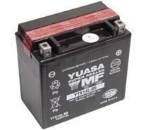 YUASA MC batteri 13Ah YTX14L-BS lxbxh=150x87x145mm