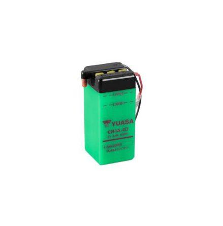 YUASA MC batteri 6N4A-4D 4Ah lxbxh=61x57x131mm