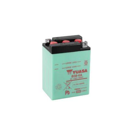 YUASA MC batteri 6V 13Ah B38-6A lxbxh=119x83x161mm