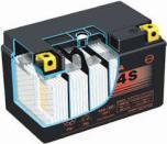 YUASA MC batteri 11,2 Ah YTZ14S lxbxh=150x87x110mm
