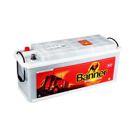 Startbatteri 12V135Ah BannerBuffaloBull 63544SHD LxBxH:480/513x175x210mm