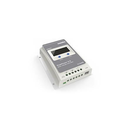Solcellsregulator PeakPower 2,0 MMPT Laddström 10A Max. Paneleffekt 12V:130W 24V:260W EAN 7028640057157