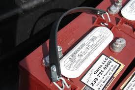 Lyftrem för alla batterier med bilpol samt 6/8V Deepcycle batterier typ Trojan, Crown, Tudor,m.f.l.