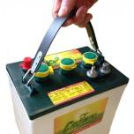 TROJAN T-125 Deep-cycle batteri 6V 240Ah LxBxH:264x181x241/276mm Liftbatteri Golfbilsbatteri