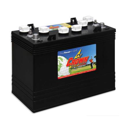 Deep-cycle batteri 12V 150Ah CROWN LxBxH:328x179x267mm Typ T-1275 Trojan