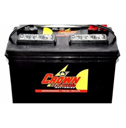 Deep-cycle batteri 12V 115Ah CROWN LxBxH:334x171x238mm Typ 27TMH Trojan