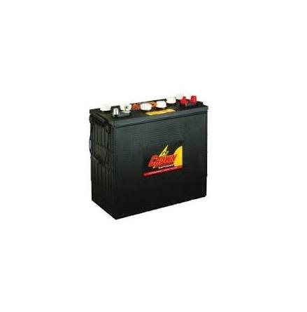 Deep-cycle batteri 12V 195Ah CROWN LxBxH:394x178x368mm Typ J185G-AC Trojan
