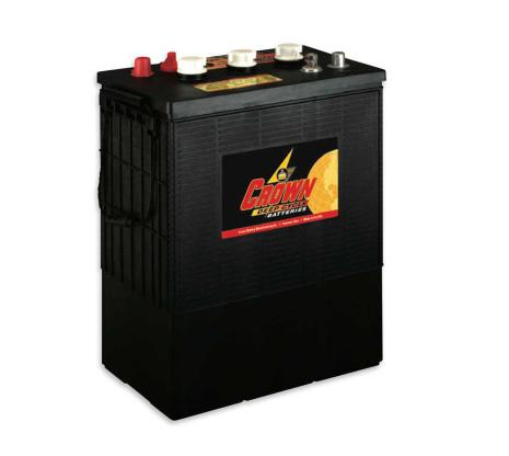 Deep-cycle batteri 6V 430 Ah CROWN lxbxh=301/314x183x410mm Typ TROJAN L16H-AC