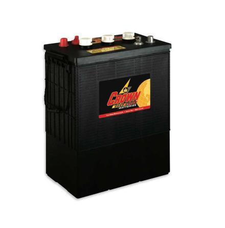 Deep-cycle batteri 6V 350 Ah CROWN lxbxh=310x183x359mm Typ TROJAN L16E-AC