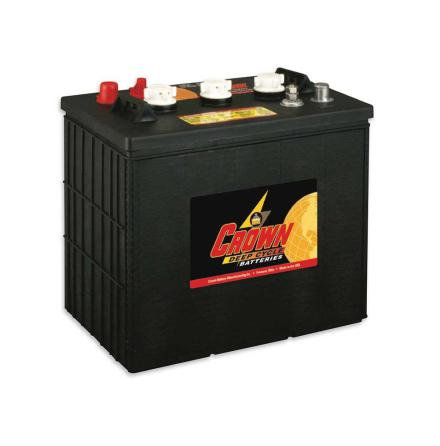 Deep-cycle batteri 6V 275 Ah CROWN lxbxh=298x183x286mm Typ TROJAN J250P