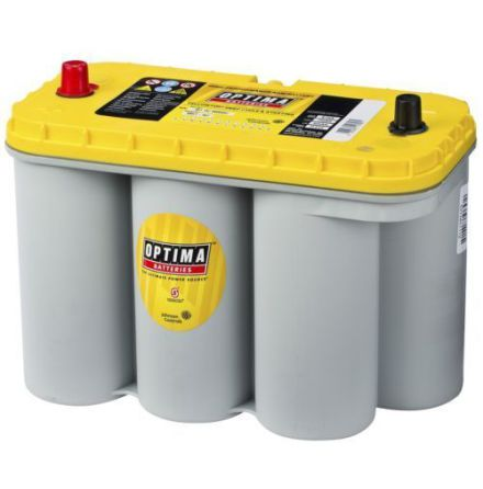 Optima batteri 12V 75Ah Yellow Top DC 5,5L 8051-187 LxBxH:328x165x238mm