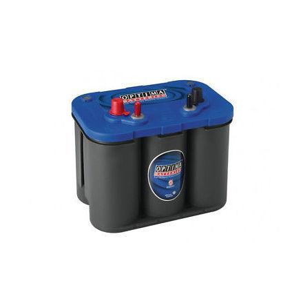 Optima båtbatteri 12V 50Ah Blue Top SLI 4,2L 8006-252 LxBxH:254x175x200mm
