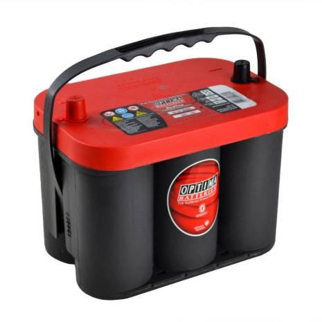 Optima startbatteri 12V 50Ah Red Top C4,2L 8001-287 LxBxH:254x175x200mm