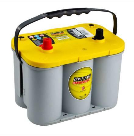Optima batteri 12V 55Ah Yellow Top S 4,2L 8012-254 LxBxH:254x175x200mm