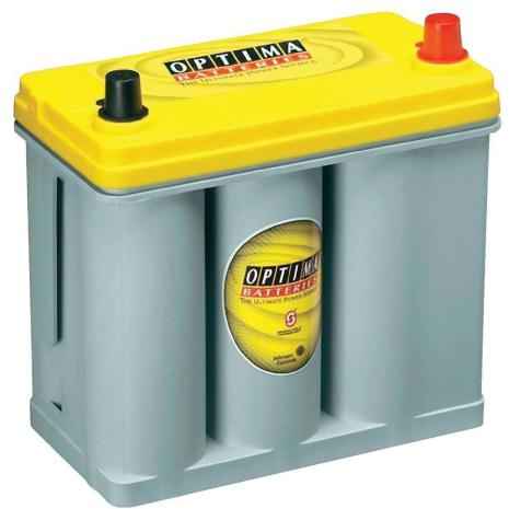 Optima batteri 12V 38Ah Yellow Top 2,7L 8073-176 LxBxH:237x129x227mm