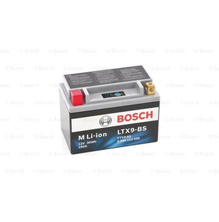 Bosch MC Li-Ionbatteri 180CCA3Ah LTX9-BS YTX9-BS 150X87X105mm 0,7kg