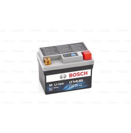 Bosch MC Li-Ionbatteri 95CCA 1,6Ah LTX4L-BS YTX4L-BS 113X70X85mm 0,4kg