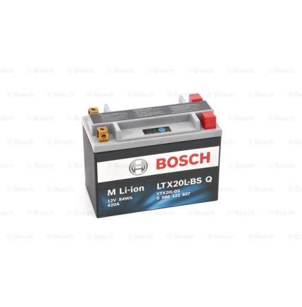 MC batteri Bosch LTX20L-BS YTX20L-BS  Q LI-ION 420CCA 7Ah 175x87x130mm 1,7kg 0 986 122 637