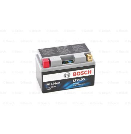 MC batteri Bosch LTZ10S Li-ion 240CCA 4Ah LTZ10S 150x87x93mm 0,9kg 0 986 122 615