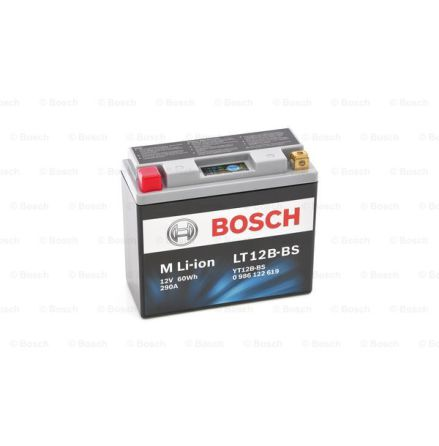 MC batteri Bosch LT12B-BS Li-ion 290CCA 5Ah LT12B-BS 150x65x130mm 0 986 122 619