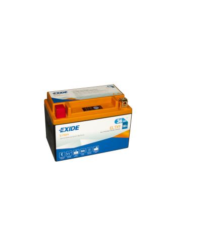 Tudor Exide MC Li-Ion batteri 180CCA ELTX9  lxbxh=150X87X105mm YT12A-BS 4302