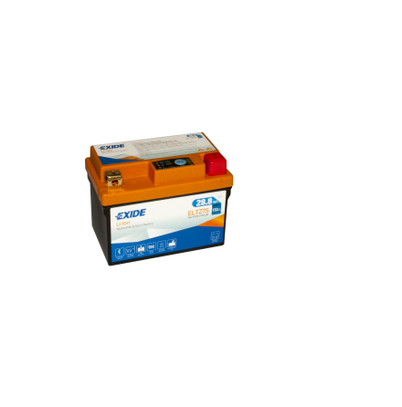 Tudor Exide MC Li-Ion batteri 150CCA ELTZ7S 4303 lxbxh=113x70x85mm