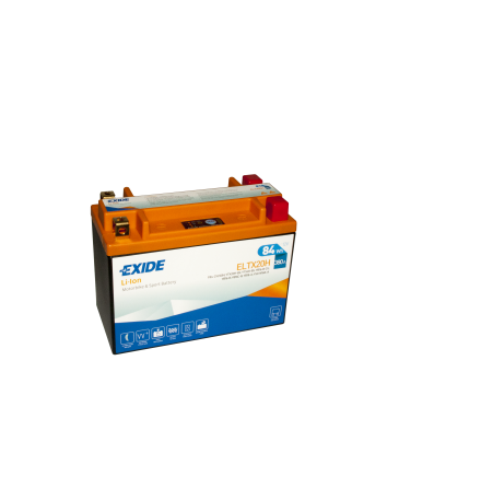 Tudor Exide MC Li-Ion batteri 210CCA ELTX12 YTZ10-S 4308 lxbxh=150x87x93mm