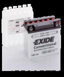 Tudor Exide MC batteri 4560 7Ah 12N7-3B lxbxh=135x75x133mm 75CCA(EN)