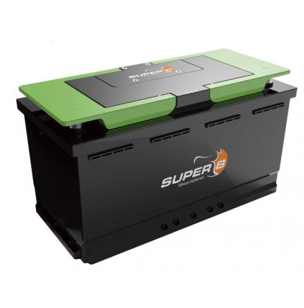 Lithium batteri Till båt,husbil mm. SB12V1200WH-M Epsilon drop-in lxbxh=353x175x190mm inbyggd batterivakt och APP