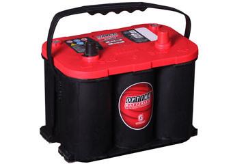 Optima startbatteri 12V 50Ah Red Top R4,2L 8003-251 LxBxH:254x175x200mm