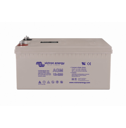 12V/220Ah AGM Deep Cycle Batt.