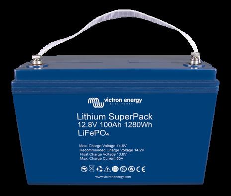 Lithium SuperPack 12,8V/100Ah (M8)
