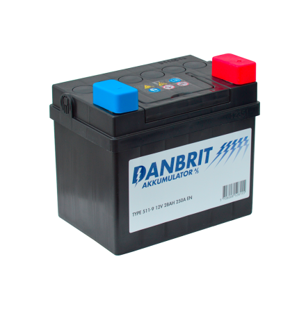 *DANBRIT MC BATTERI 28 AH 12V 28AH
