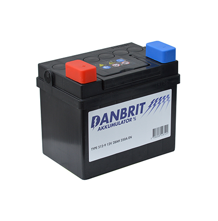DANBRIT MC BATTERI 28 AH  12V 28AH - 512-9