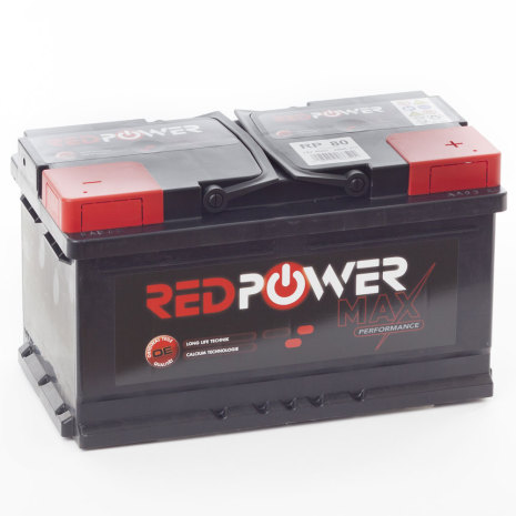 RED POWER 80 AH 660 CCA