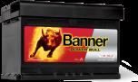 Bilbatteri 12V 72Ah Banner Power Bull P7209. LxBxH:278x175x175mm Banner Bäst i Testfakta 2013 och 2015
