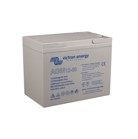 Victron 12V/60Ah AGM Super Cycle Batt. (M5)