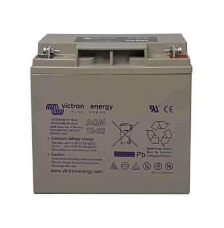 Victron 12V/22Ah AGM Deep Cycle Batt.