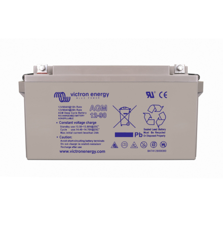 12V/90Ah AGM Deep Cycle Batt.